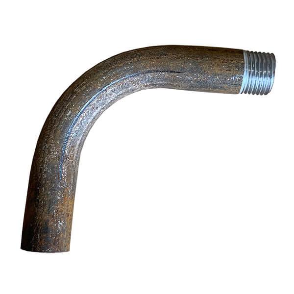 Отвод гнутый с резьбой Ду15 длинноплечий